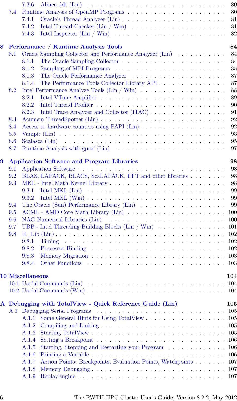 Table Extensible Alinea Élégant the Rwth Hpc Cluster User S Guide Version Pdf Free Download Of 36 Unique Table Extensible Alinea
