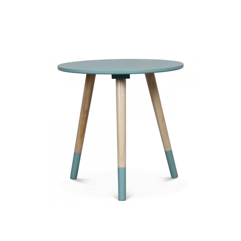 Table Extensible Exterieur Frais Table Basse Scandinave Bicolore Viky S Bleu