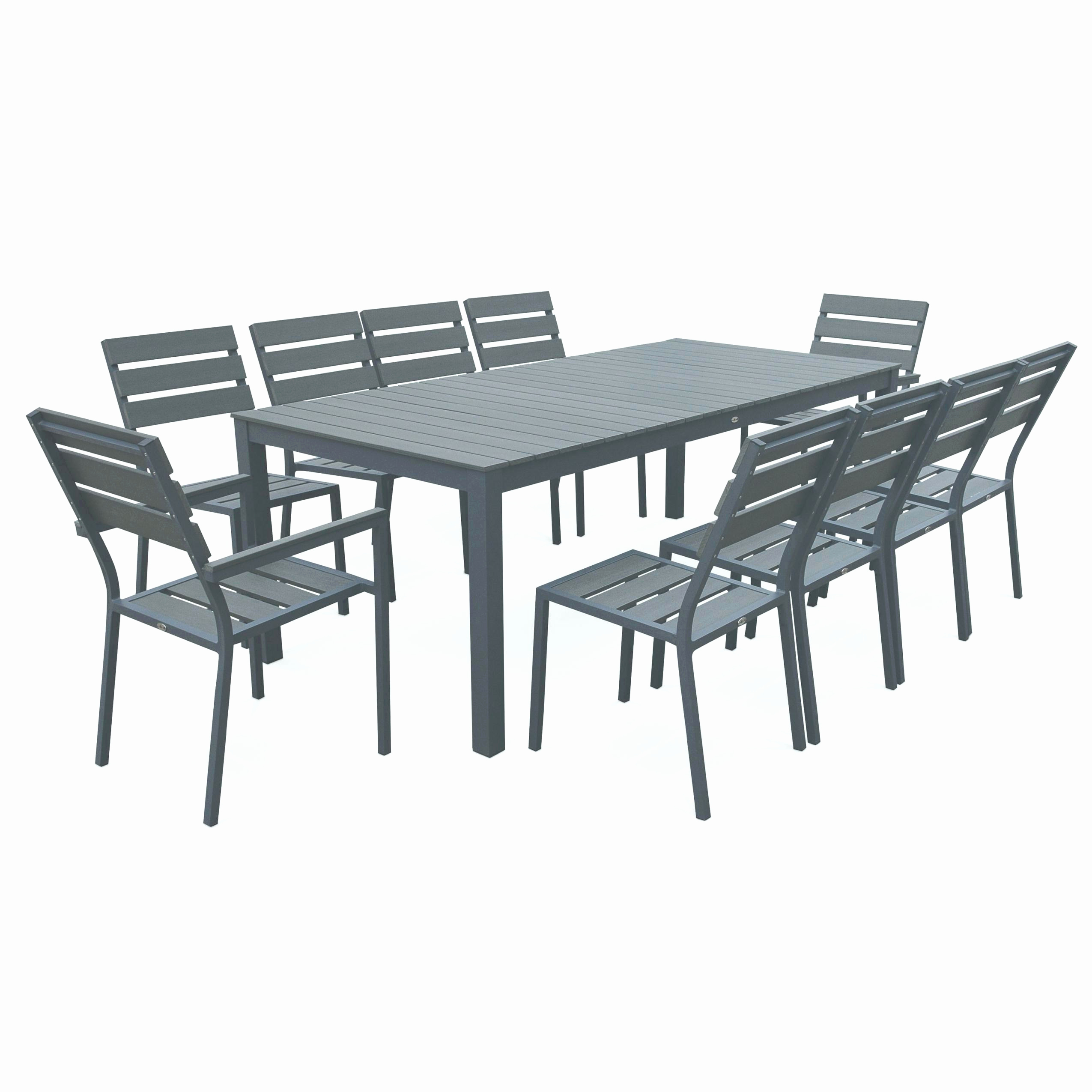 Table Extensible Exterieur Nouveau Salon De Jardin En Metal Inspiré Salon De Jardin En Bois