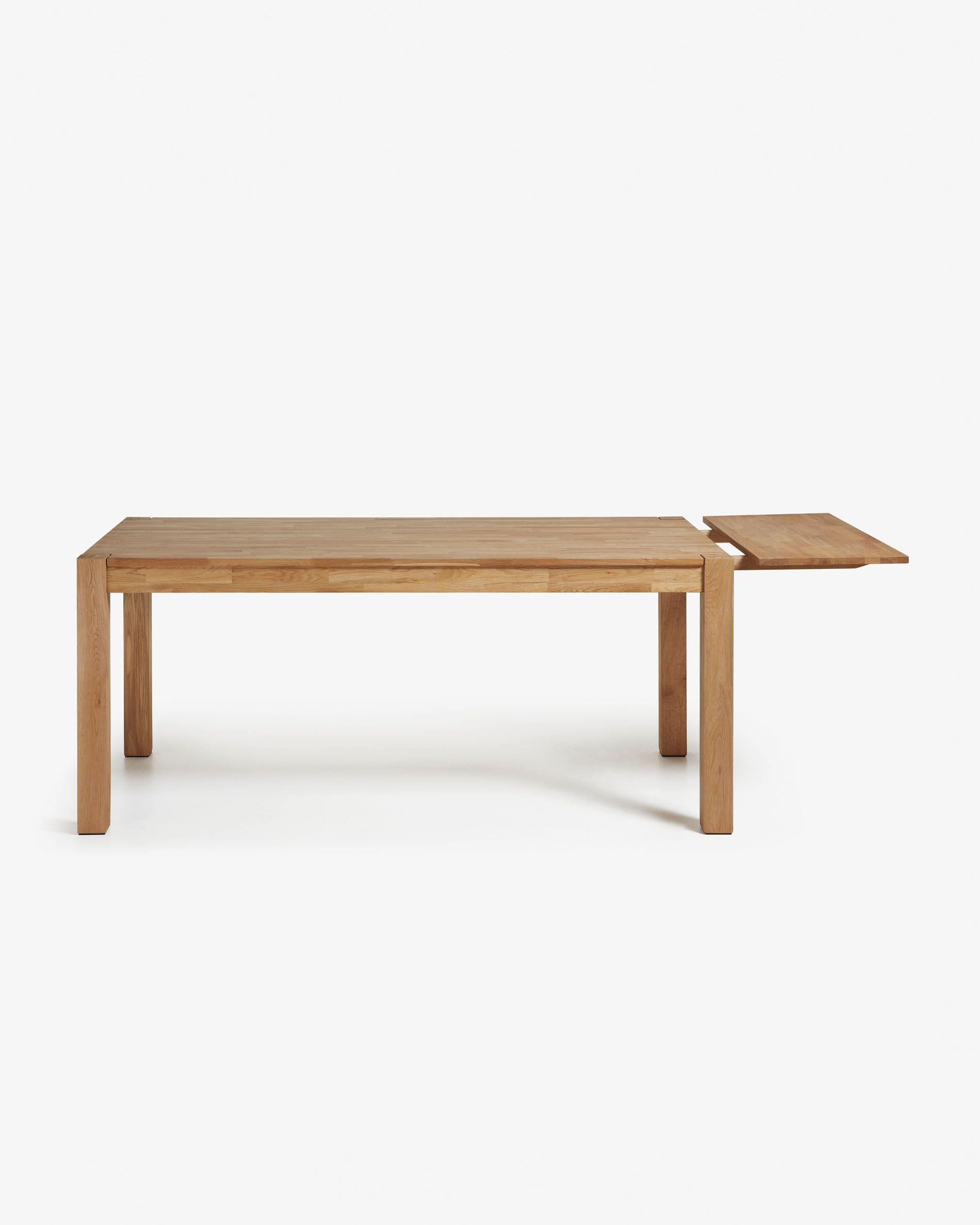 Table Exterieur En Bois Beau Table Extensible Isbel 140