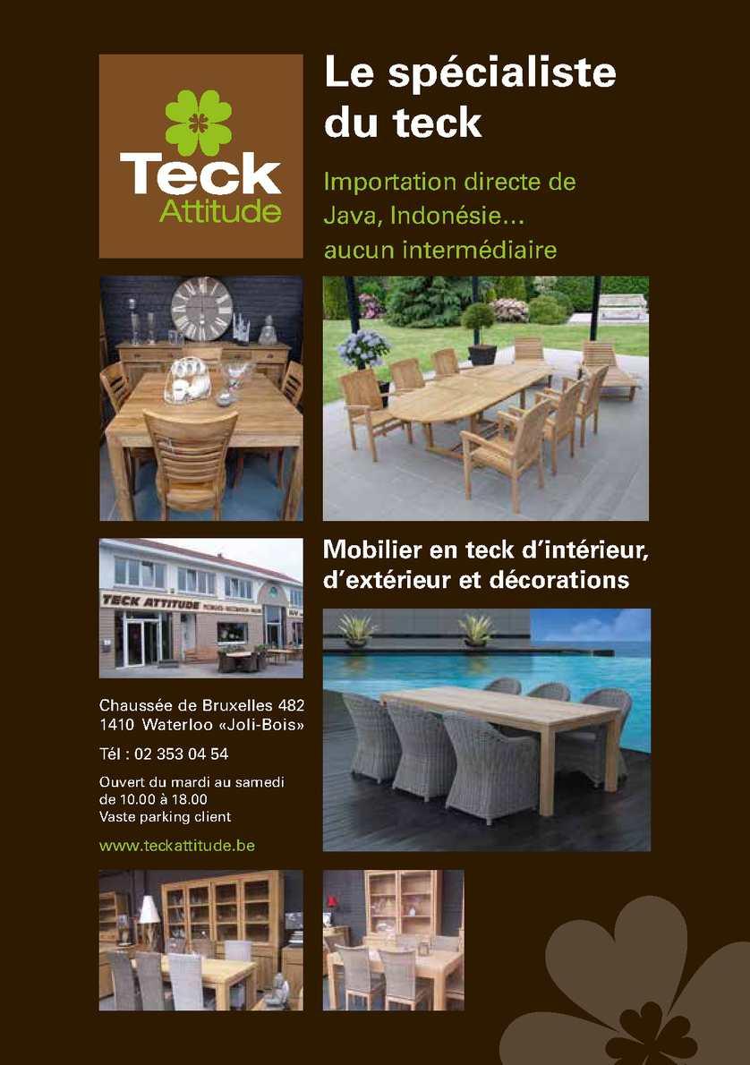 Table Exterieur Teck Élégant Cuisine Francaise Brabant Wallon Calameo Downloader Of 23 Génial Table Exterieur Teck