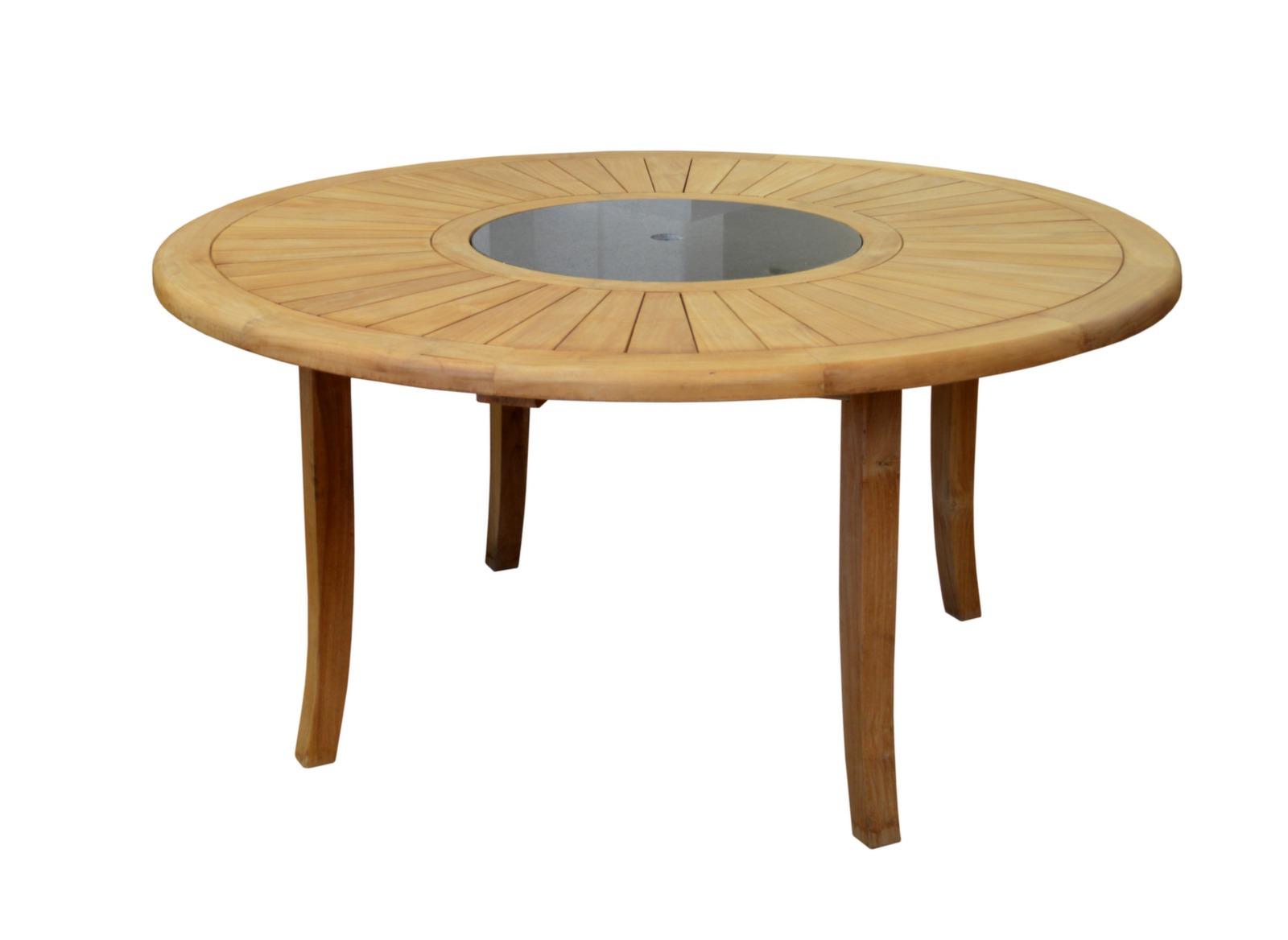 ides d de table jardin ronde en teck avec plateau tournant concernant leclerc table de jardin ronde en teck avec plateau tournant leclerc best salon pictures idees et 1