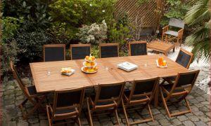 23 Génial Table Exterieur Teck