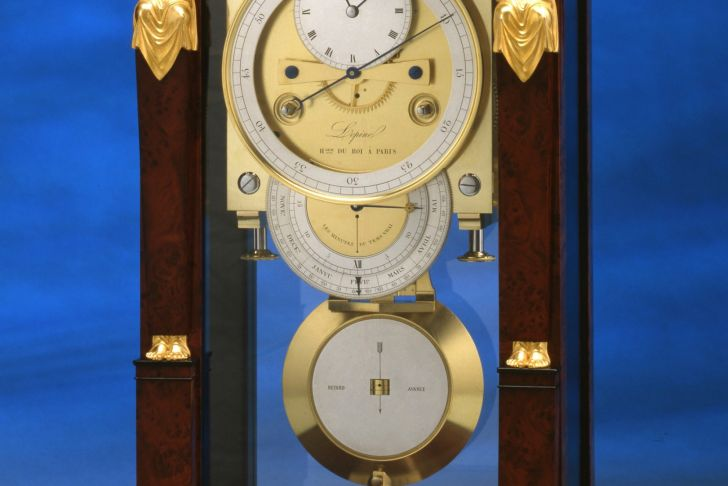 Table Fer Luxe Jean Antoine Lepine An Empire Table Regulator Of Month