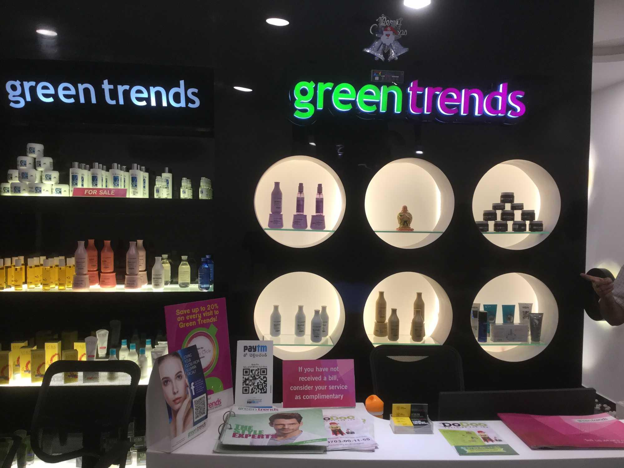 green trends uni hair style salon spa subash road ananthapur anantapur beauty spas 18noer0eow