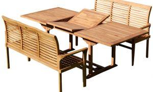 31 Élégant Table Jardin En Teck