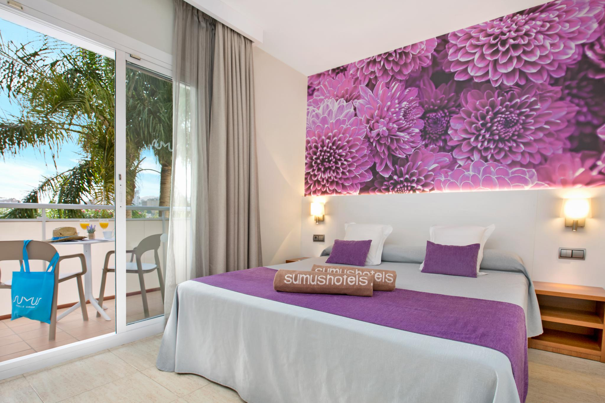 sumus hotel monteplaya malgrat de mar habitacion estandar436