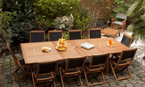 27 Luxe Table Jardin Teck