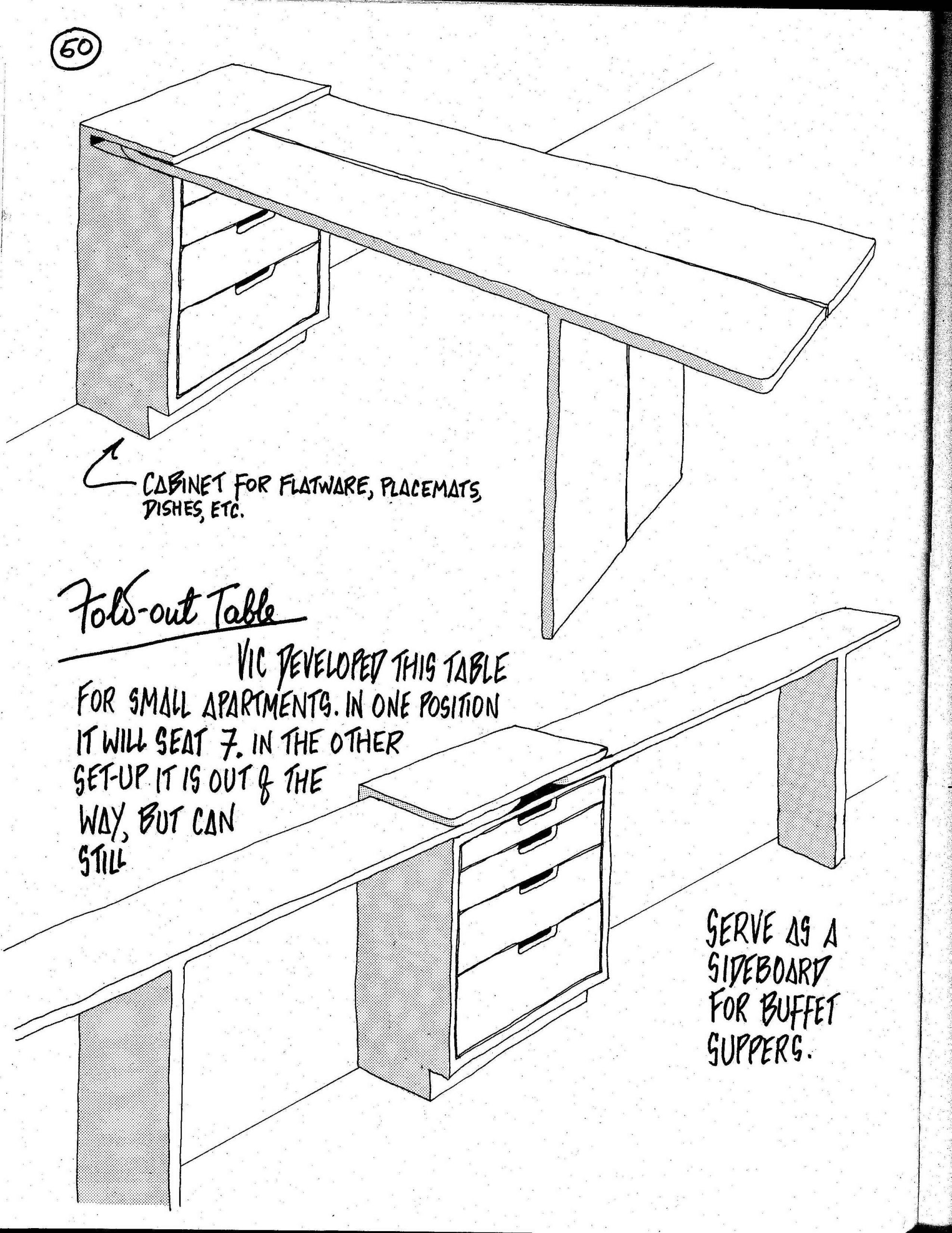 Table Pour Petit Espace Luxe Great Idea for A Fold Out Table and You Could Still Have