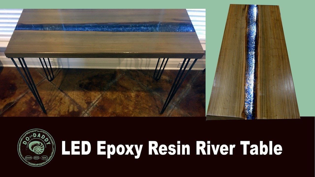 Table Resine Frais Epoxy Resin Led Table Of 33 Inspirant Table Resine