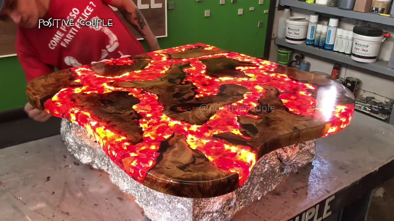 Table Resine Inspirant Table Of Epoxy Fire Lava СтоРиз эпоксидной смоРы Огненная Лава Of 33 Inspirant Table Resine