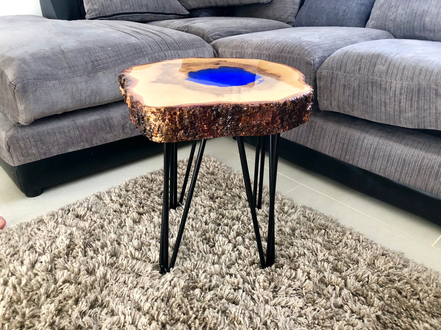 Table Resine Nouveau Coffee Side Table with Fluorescent Epoxy Resi Of 33 Inspirant Table Resine