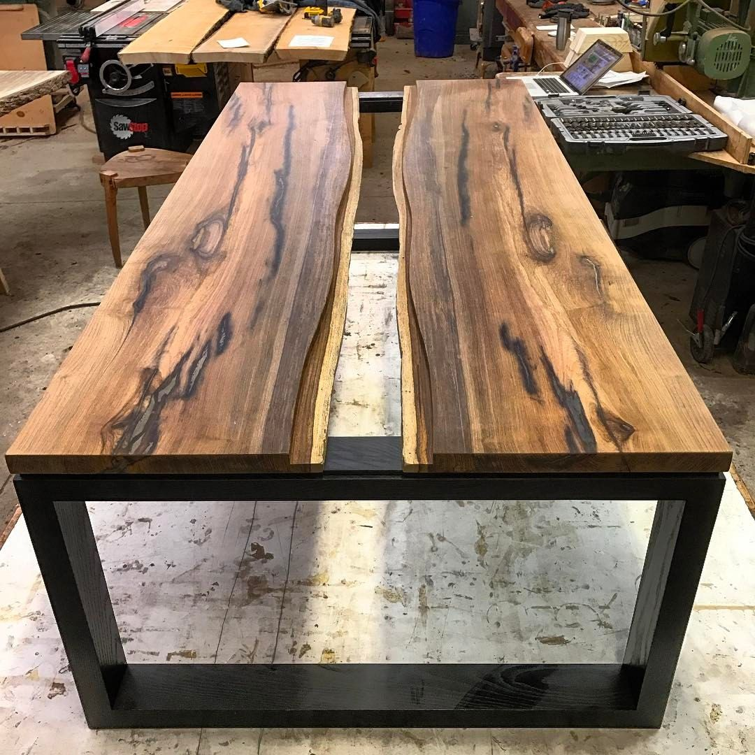 Table Resine Nouveau Regardez Cette Photo Instagram De Canadianwoodworks • 5 490 Of 33 Inspirant Table Resine