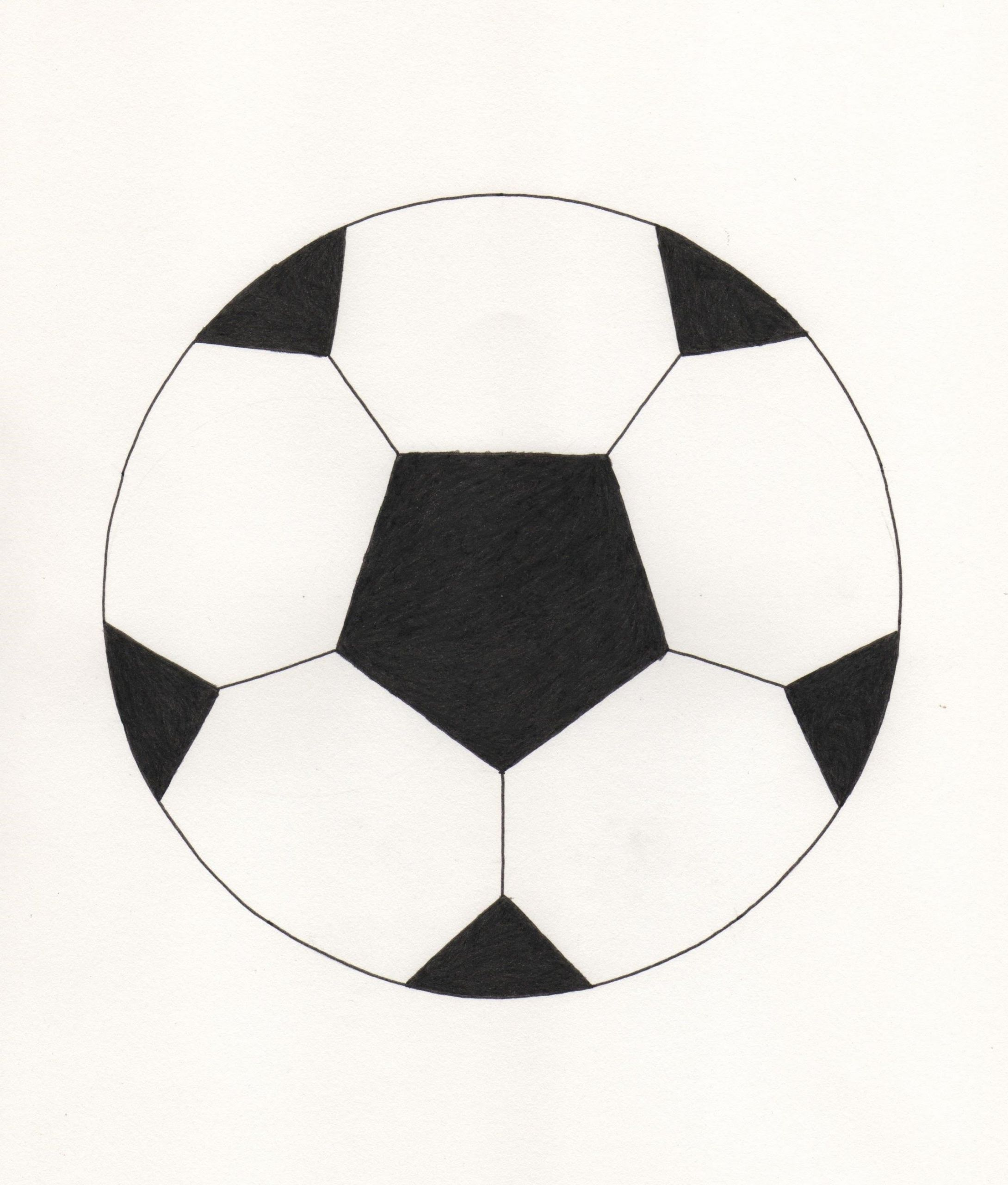 dessin au pas le ballon de foot youtube