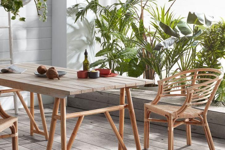 Table Terasse Élégant Cosgrove Table 180 X 85 Cm