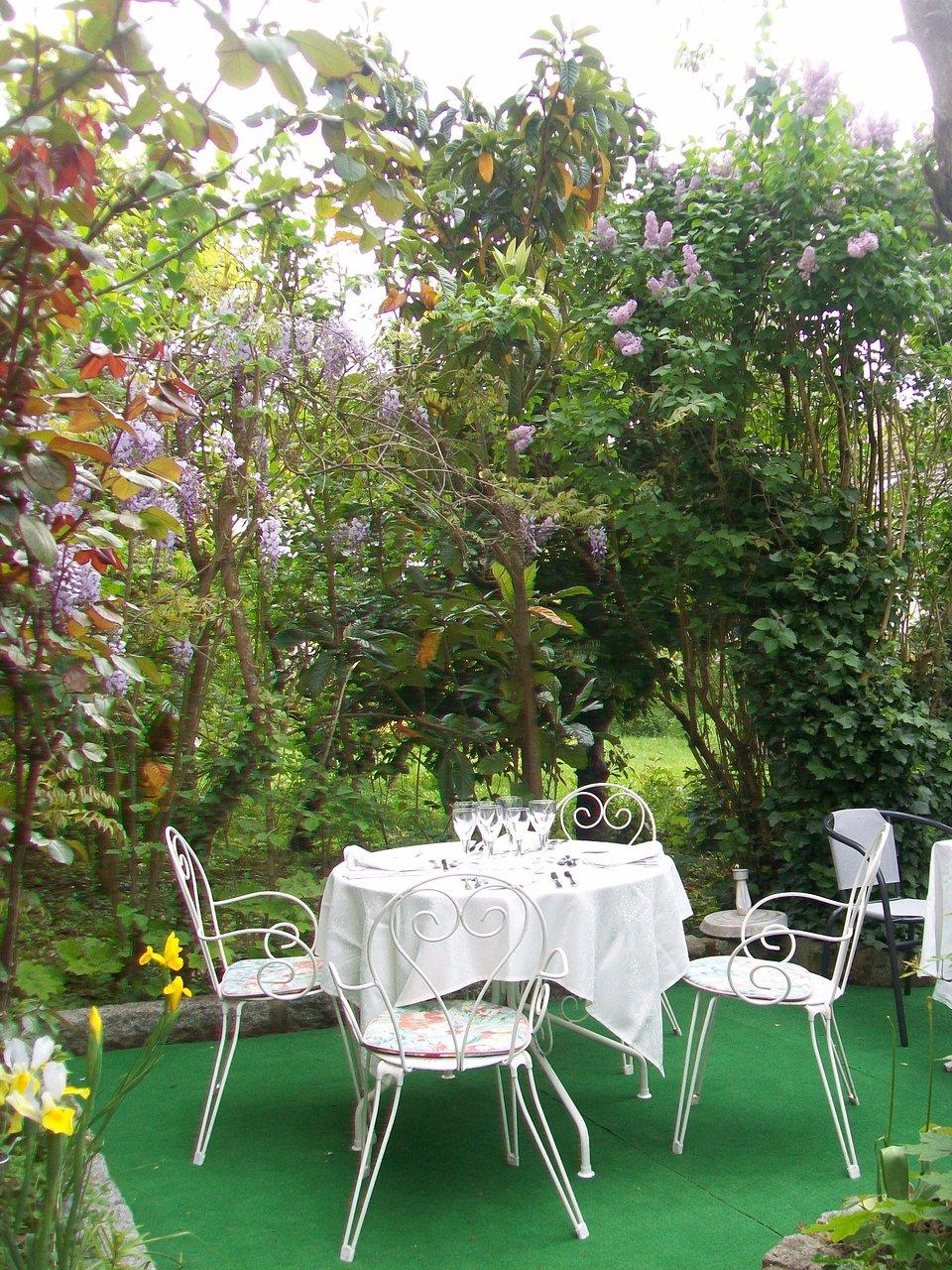 terrasse cote jardin