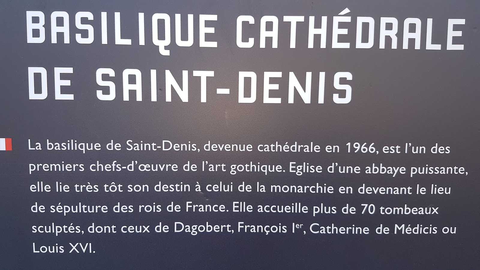 Basilique St Denis