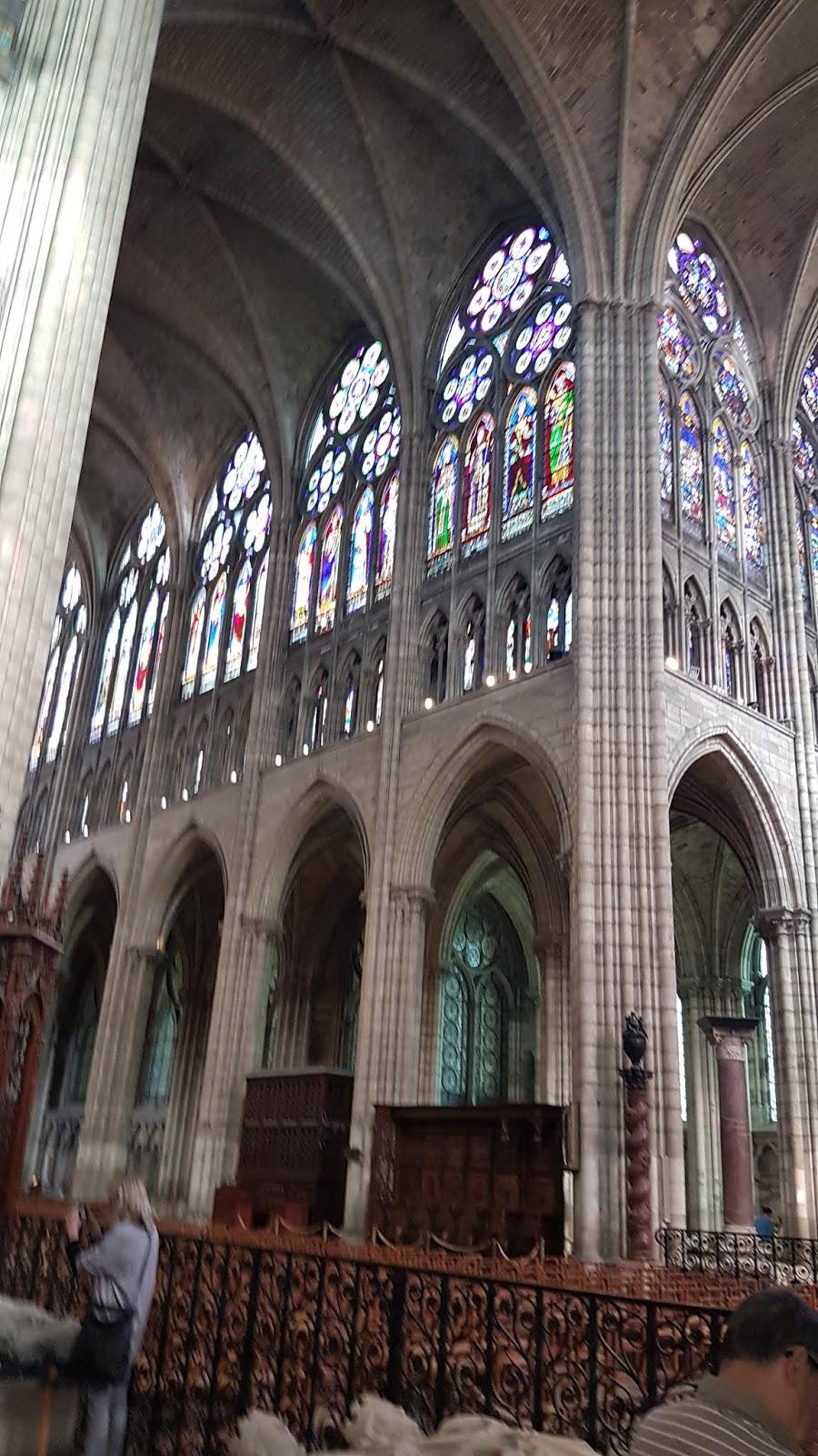 Aperçu intérieur Basilique St Denis