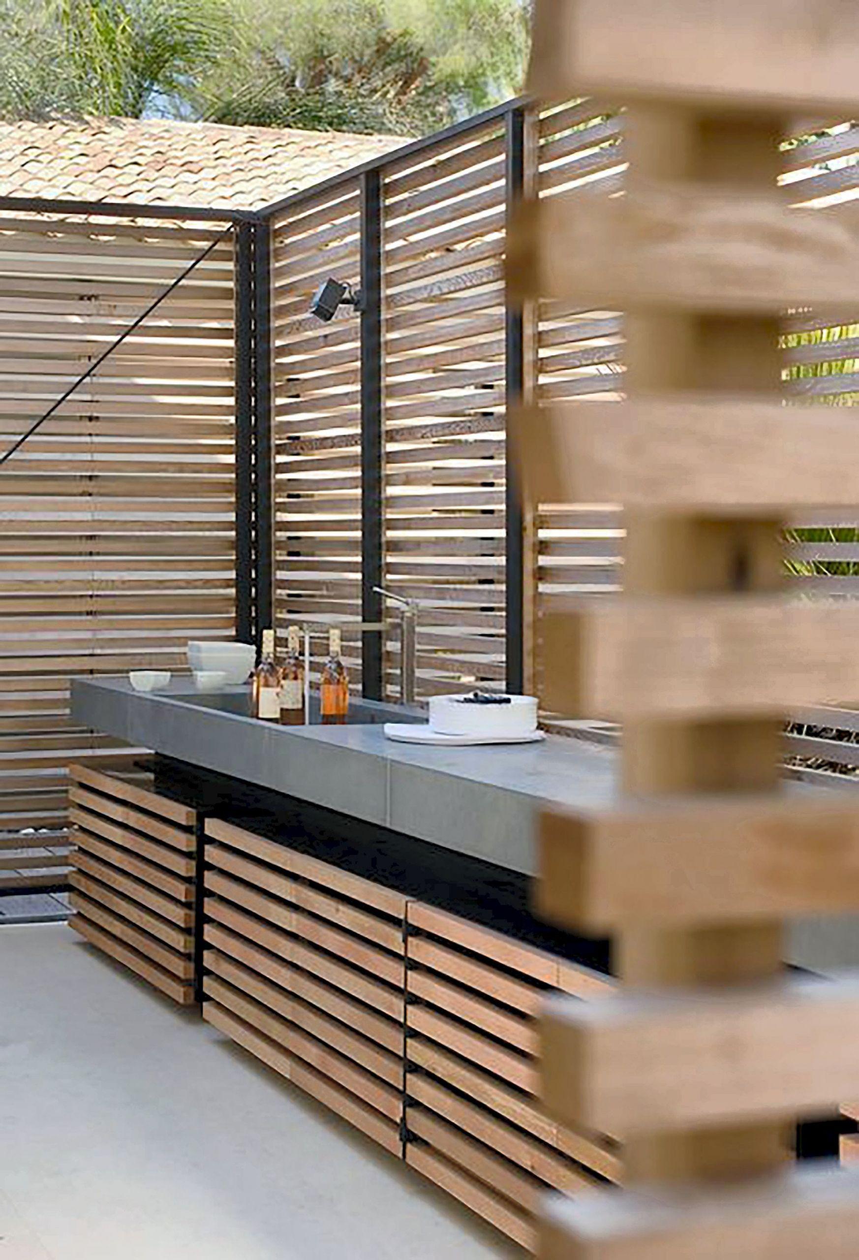 bar de terrasse exterieur elegant 20 cuisines exterieures de rave pour l ete de bar de terrasse exterieur scaled
