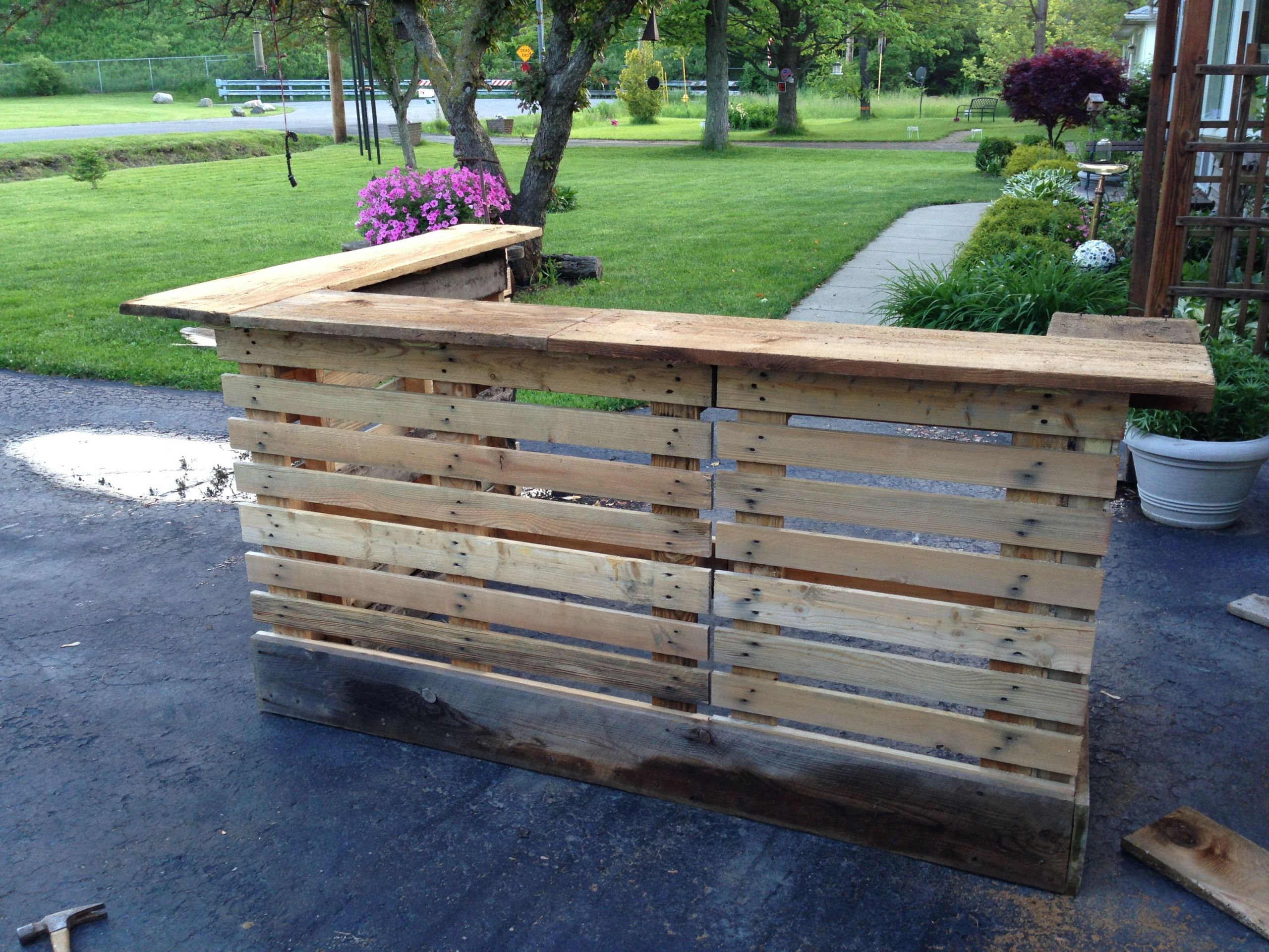 bar de terrasse exterieur best of bar made from upcycled pallets and 200 year old barn wood de bar de terrasse exterieur scaled