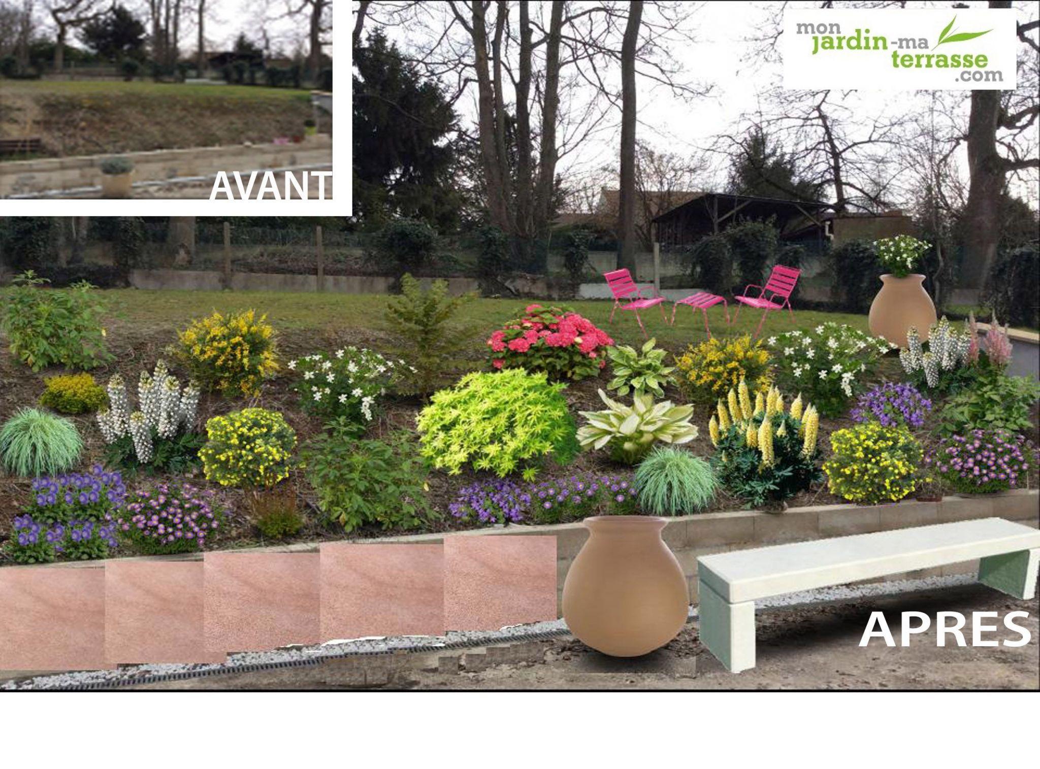 jardin des lices avec amenagement butte exterieur inspirant s mon amenagement jardin de jardin des lices