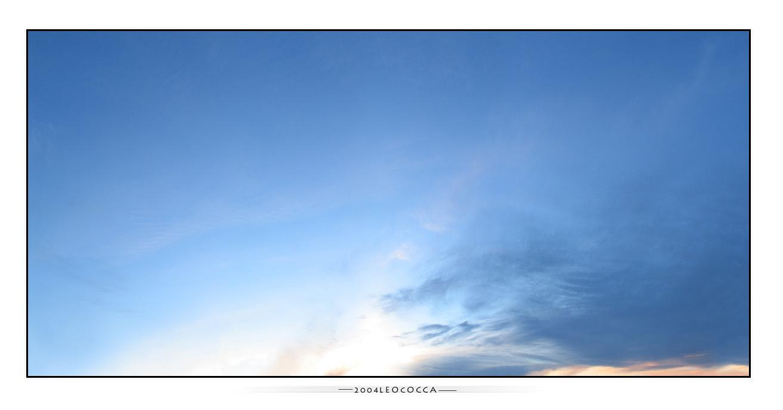 amazing sky by subaqua