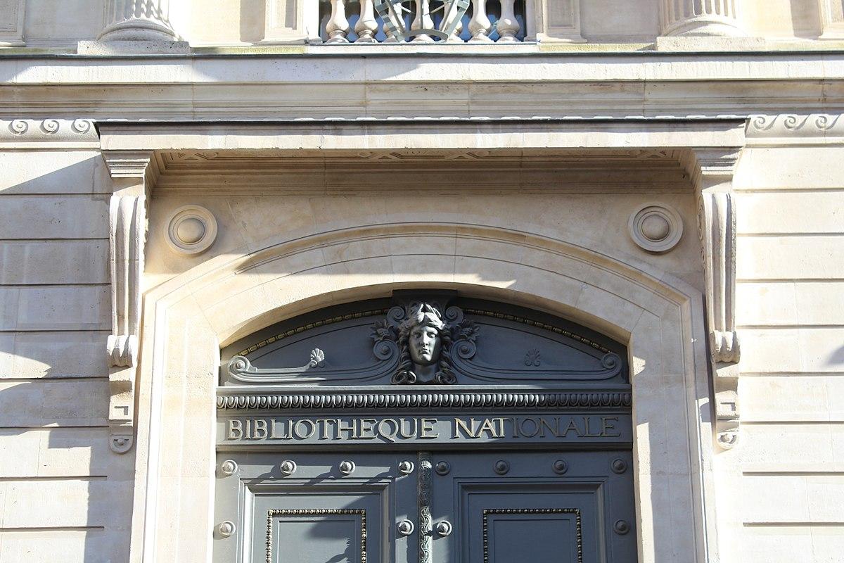 1200px Bibliothèque nationale France Richelieu Louvois Paris 4