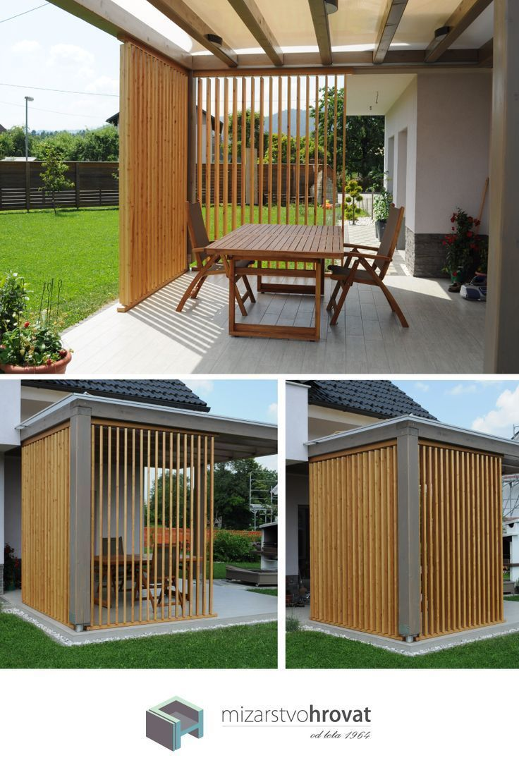 Amenagement Terrasse Bois Jardin Charmant How About Wooden Sunbreakers they Create the Perfect Of 58 Élégant Amenagement Terrasse Bois Jardin