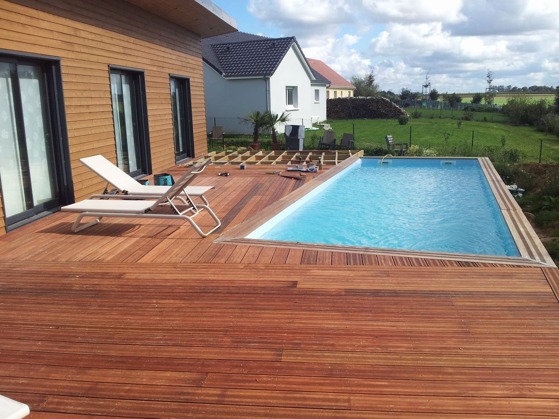 terrasse bois piscine hors sol impressionnant plage piscine bois posite inspirant banc de jardin design of terrasse bois piscine hors sol
