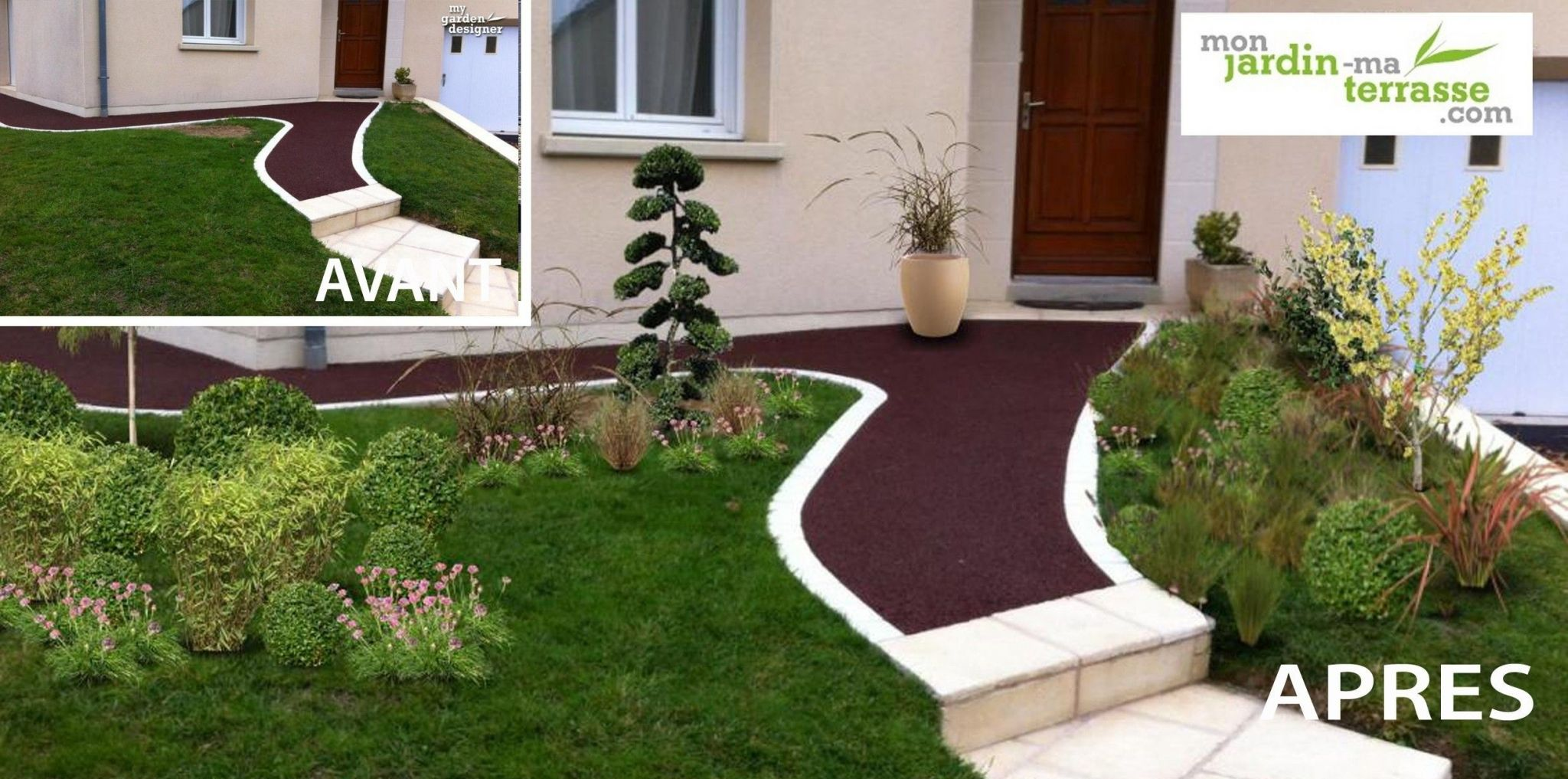 idee amenagement jardin mediterraneen avec idee amenagement jardin devant maison dcoration de extrieur de idee amenagement jardin mediterraneen