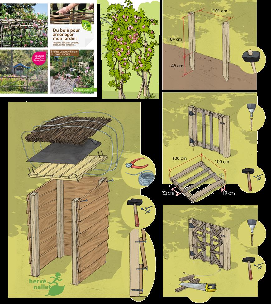 2019 Du bois pour aménager mon jardin