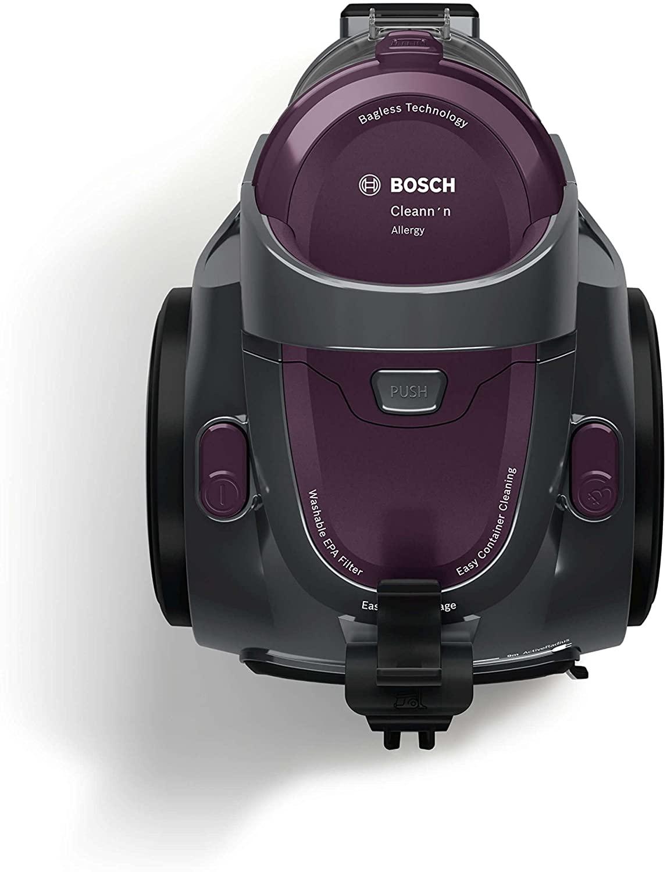 Aménager son Jardin Nouveau Bosch Electroménager Bgc05aaa1 Gs05 Cleann N aspirateur Sans Sac Classe A 700 W 1 5 Liters Violet Gris