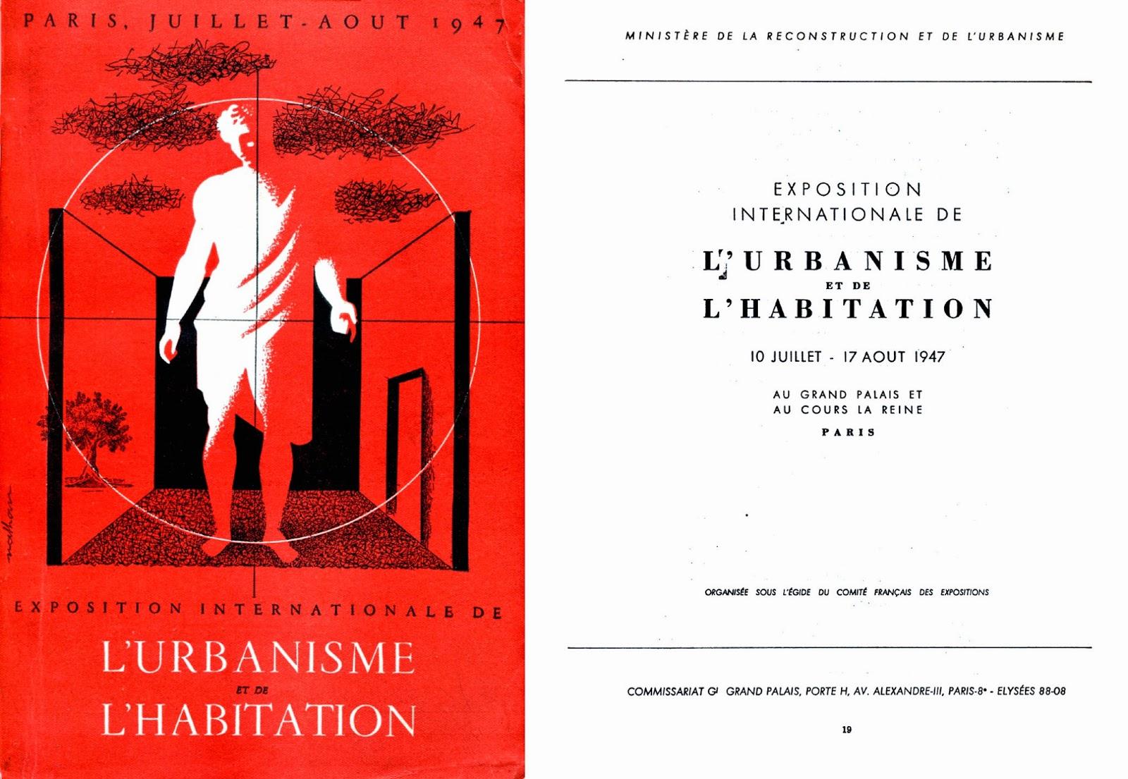 Catalogue de l Exposition de l urbanisme et de l habitation 1947 023