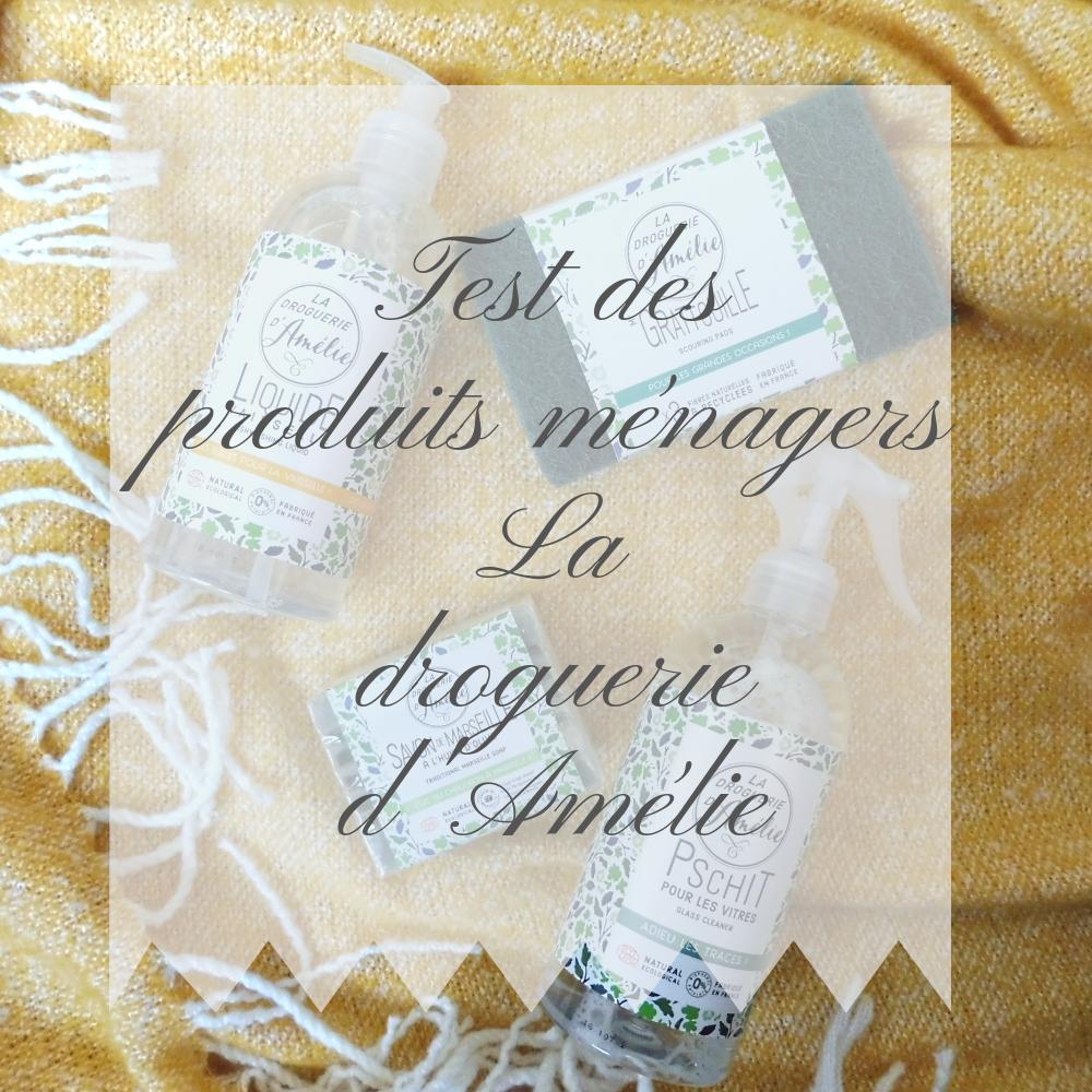 Test des produits ménagers Lie d Amélie %