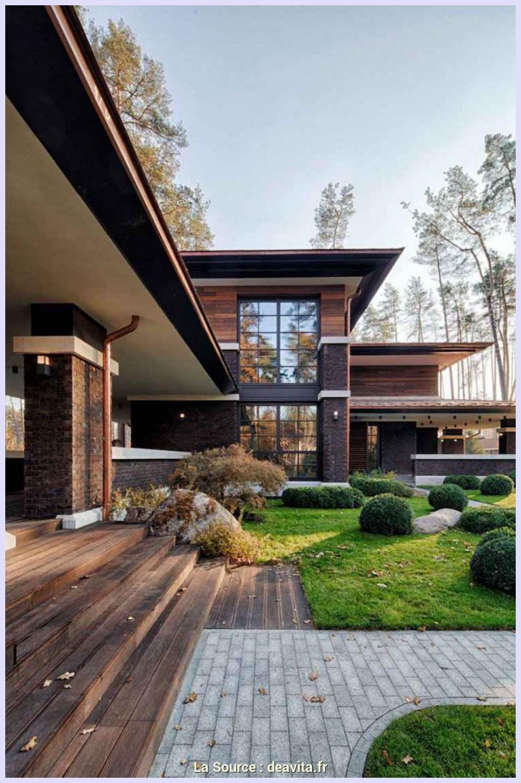 idée jardin devant maison aménagement jardin devant maison en 50 idées modernes