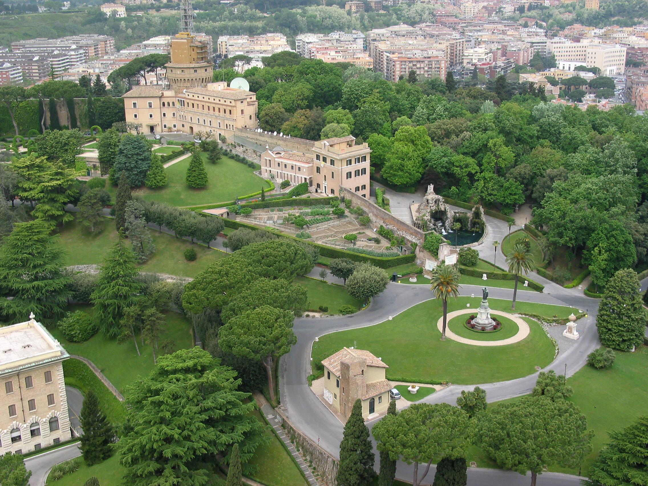 Jardins du Vatican 924
