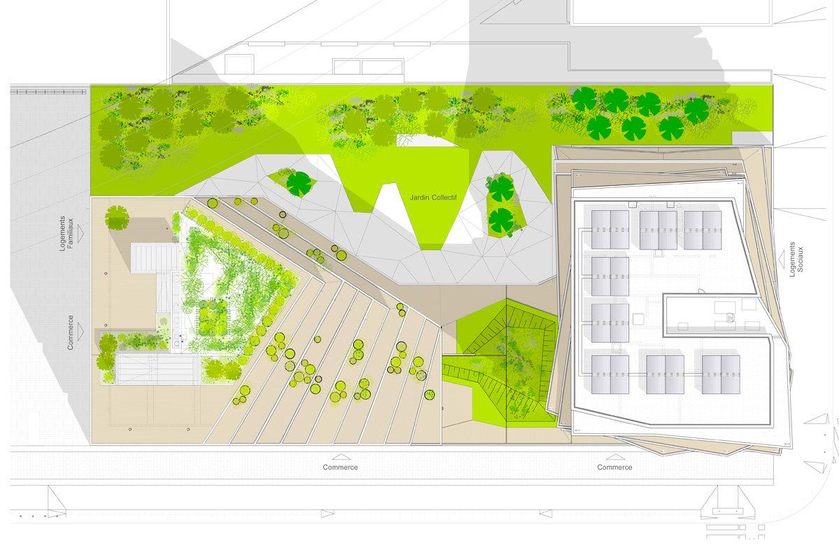 Architecte Jardin Best Of Parisian Residences by Hamonic Masson & Te Vollenweider Of 69 Luxe Architecte Jardin