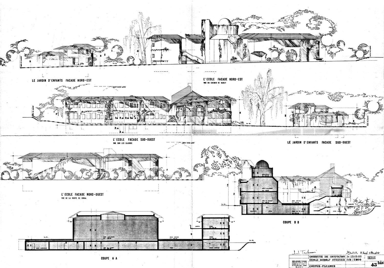 Architecte Jardin Élégant Localarchitecture Extends Rudolf Steiner School In Geneva Of 69 Luxe Architecte Jardin