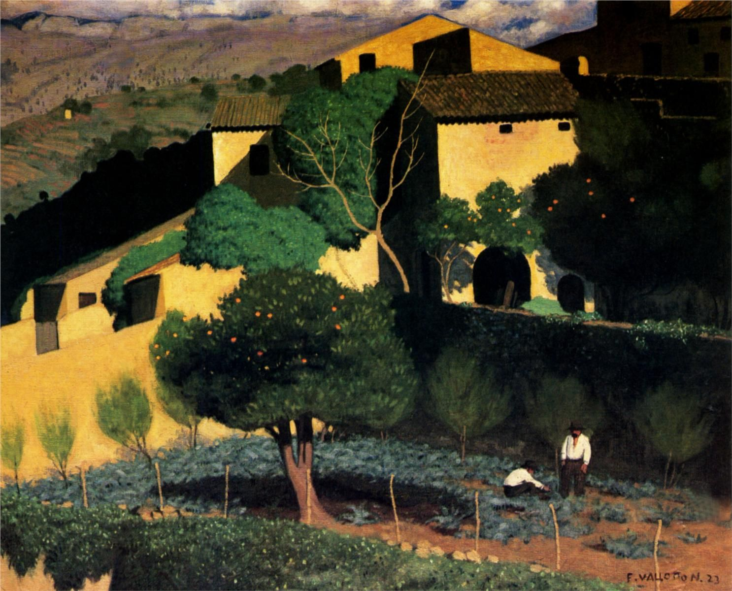 Art Et Jardin Inspirant evening On the Loire Felix Vallotton Wikipaintings Of 56 Luxe Art Et Jardin