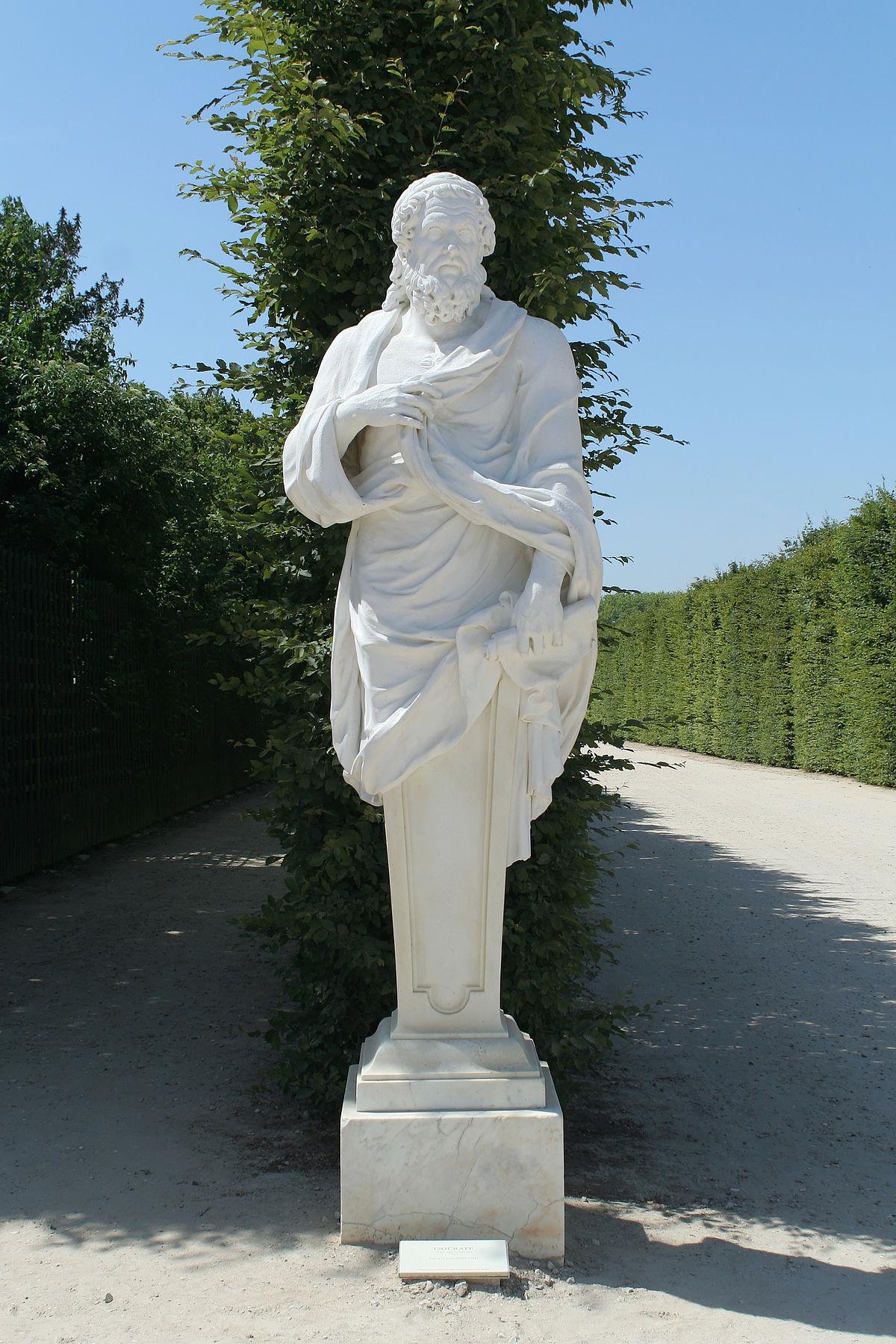 1200px Parc de Versailles Rond Point des Philosophes Isocrate Pierre Granier MR1870 01