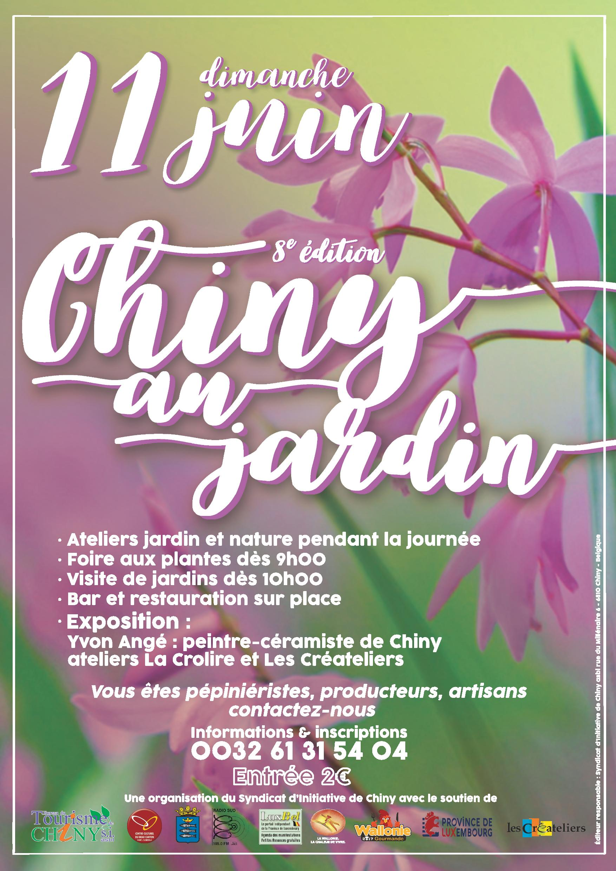 affiche Chiny au jardin page 001