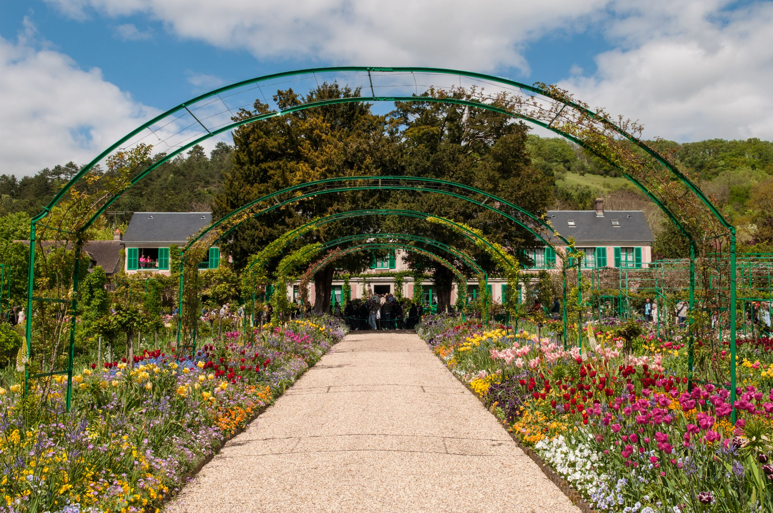 Claude Monet house and garden in Giverny %