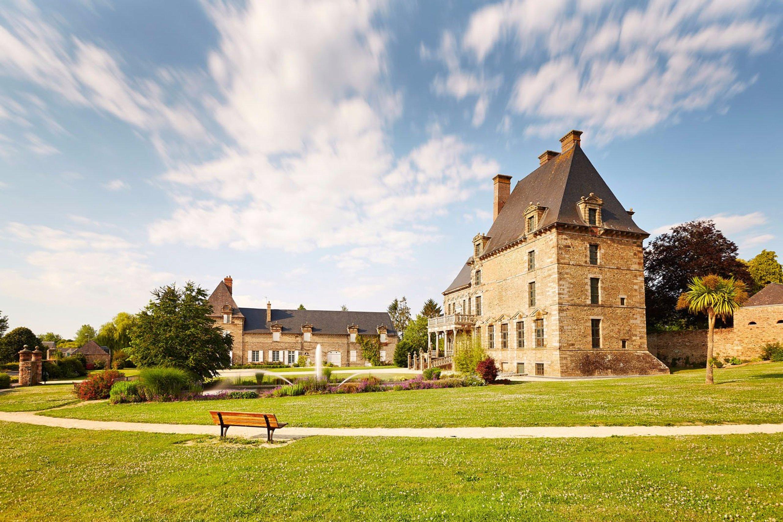 parc du chateau des montgommer