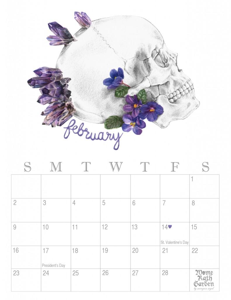 february calendar 791x1024