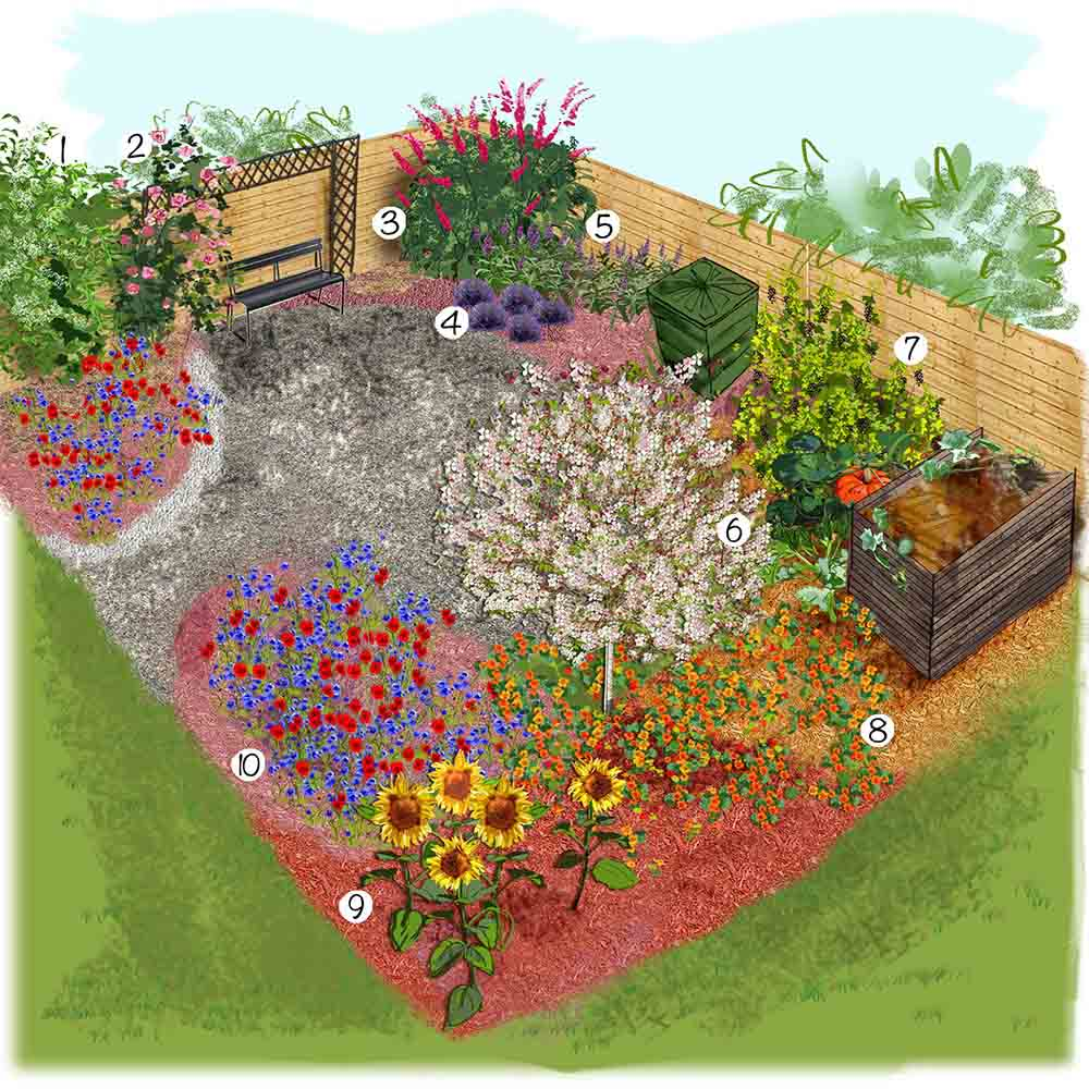 jardin ecologique idee amenagement 1000 553