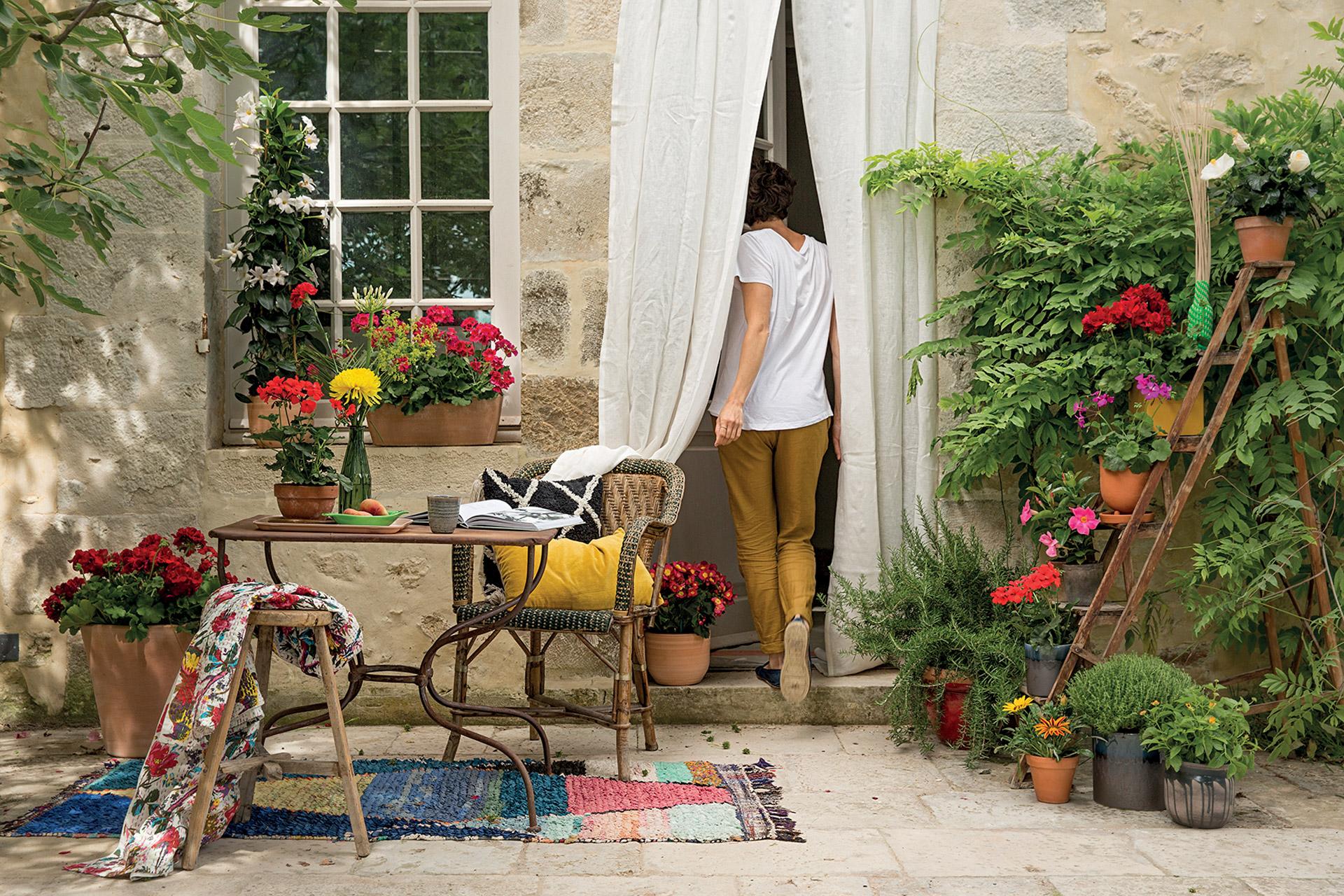 ambiance jardin Truffaut 1
