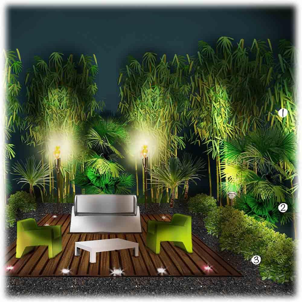 jardin nocturne idee amenagement 1000 553