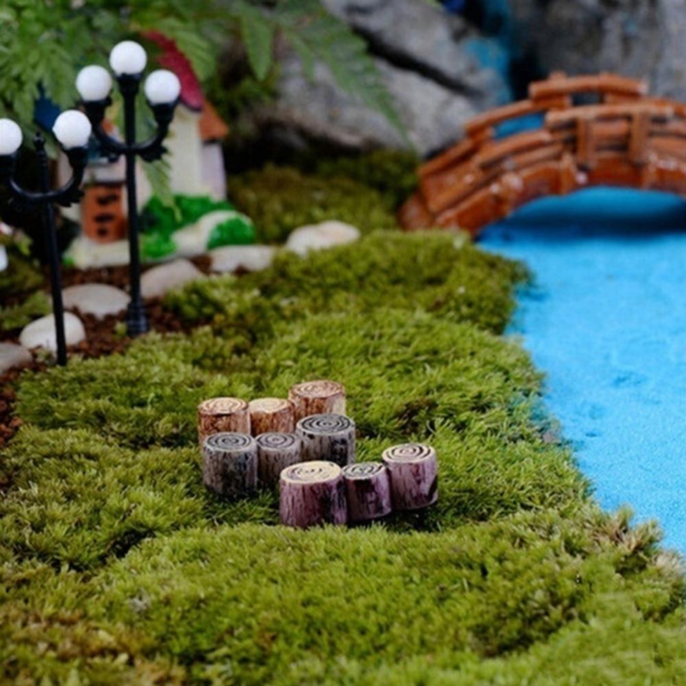 Bricolage Jardin Luxe Lot De 100pcs Champignon Miniature En Mousse Décoration Pour
