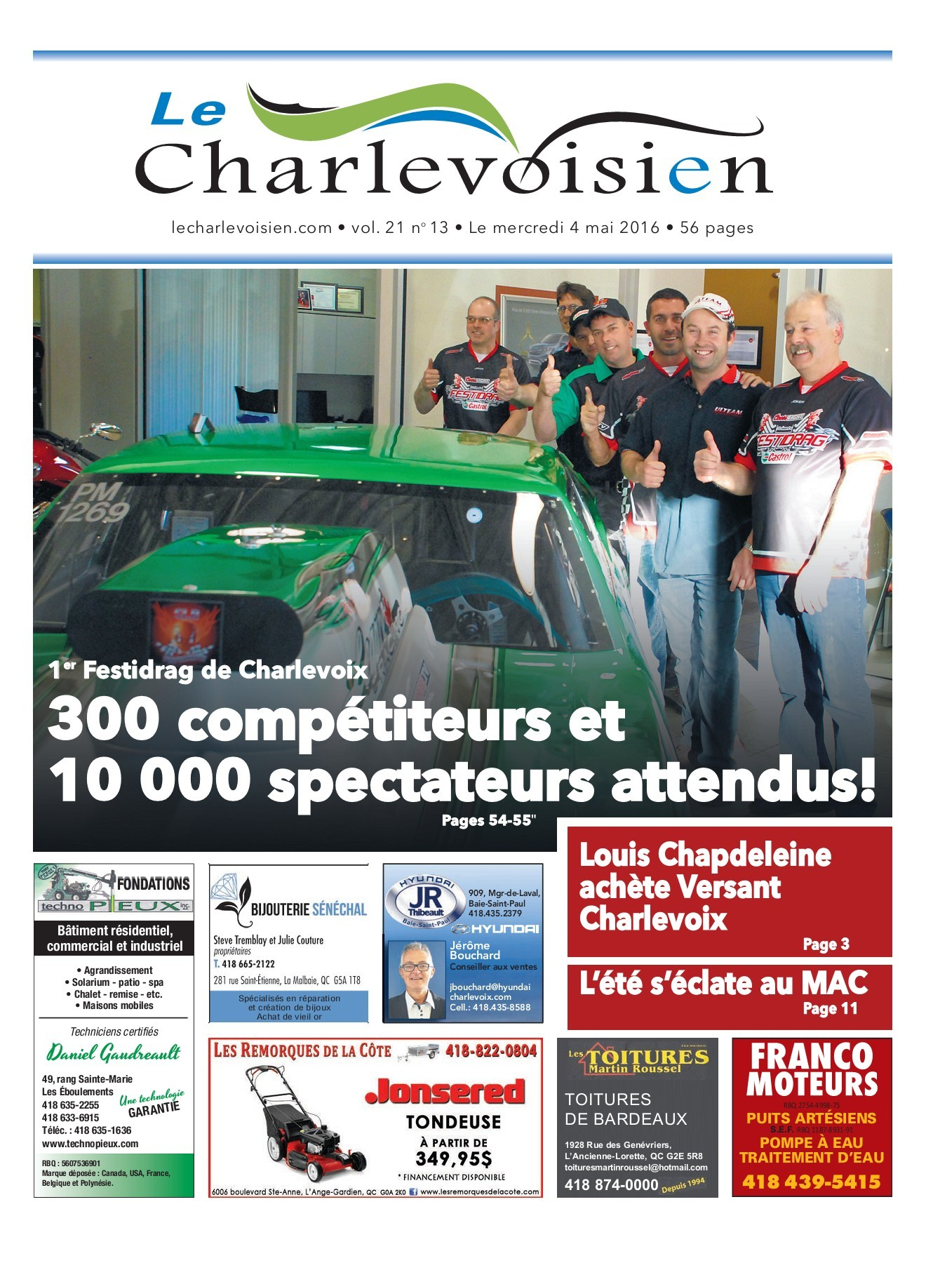 Chaise De Jardin Carrefour Nouveau Le Charlevoisien 4 Mai 2016 Pages 1 50 Text Version Of 35 Frais Chaise De Jardin Carrefour
