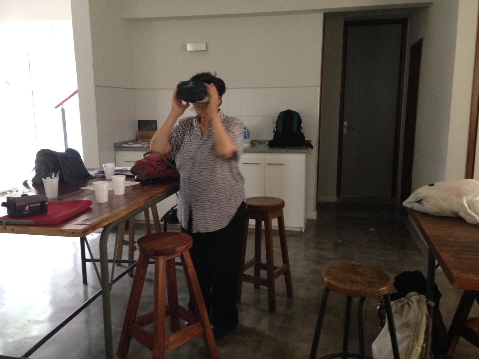 Marta ARTv realidad Virtual